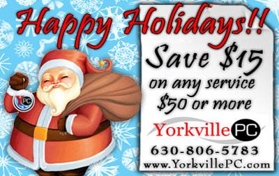 Yorkville Christmas Coupon